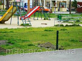 Ограждение детских площадок от 500м.пог. высота 2 м., фото 3