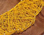 Підкова на щастя пано в техніці стрінг-арт String Art, фото 8