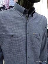 Сорочка чоловіча, прямого покрою, з довгим рукавом Birindelli FLANEL*01*257 100% бавовна M(Р)