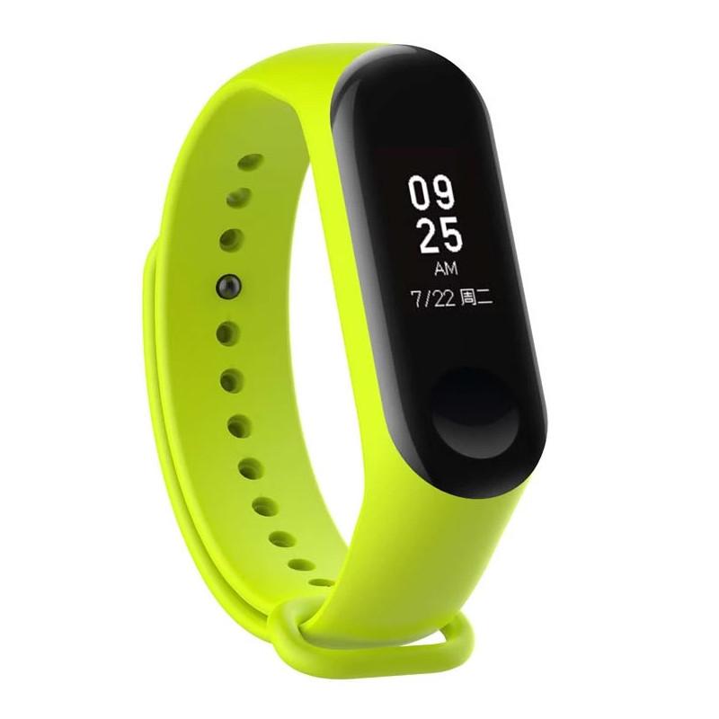 Ремешок для фитнес-браслета Xiaomi Mi Band 3 Green