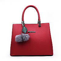 Жіноча сумка з брелочка червона опт, фото 1