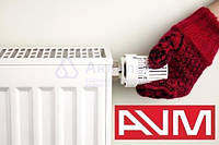 Радиатор стальной нижнее подключение 22VC 300х1100 AVM