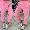 Женские брюки в спортивном стиле из габардина, фото 2