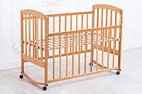 Детская кроватка «LAMA» Eco Style (без лакокрасочного покрытия), фото 1