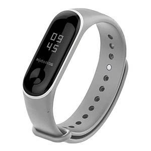 Ремешок для фитнес-браслета Xiaomi Mi Band 3 Grey