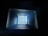 Переносной светодиодный прожектор 12v 20w LED 20w 12v (на зажимах крокодилах), фото 5