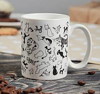 Чашка Котики в ассортименте