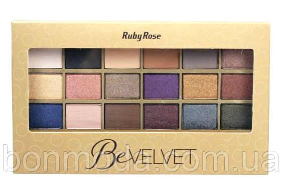 """Палетка теней с праймером Ruby Rose HB-9915 """"Be Velvet"""""""