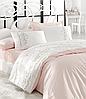 Комплект постельного белья сатин люкс c вышивкой евро Dantela Vita Embroidered  Buket