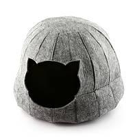 "Домик для животных Digitalwool ""Полусфера без подушки"", серый (DW-91-02)"