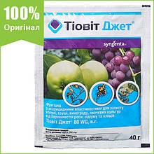 """Фунгицид """"Тиовит Джет"""" для винограда, яблони, груши, огурцов и капусты, 40 г, от Syngenta (оригинал)"""