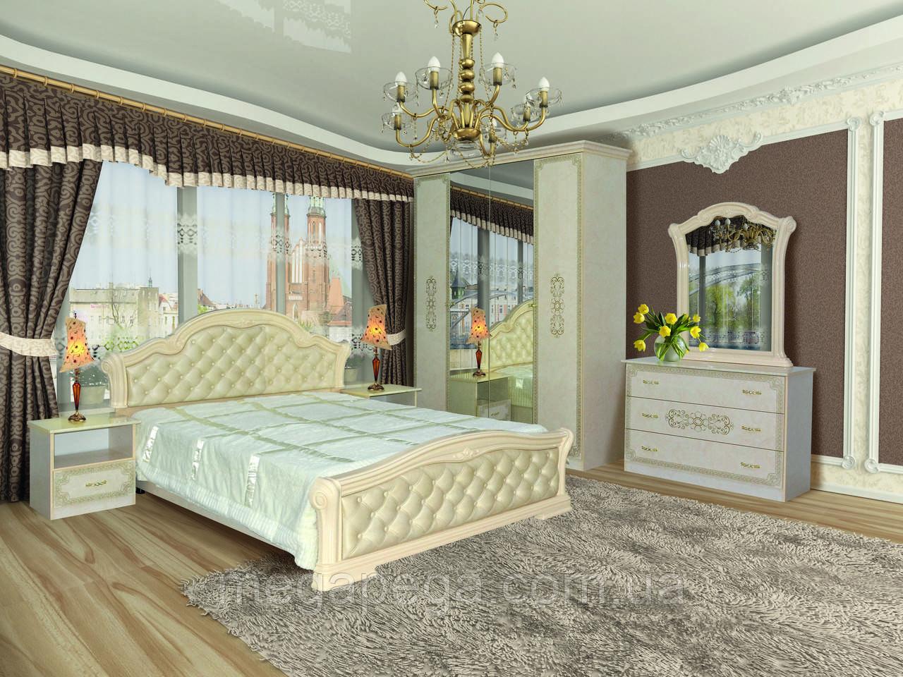 Спальня Венеция Новая, продается комплектом и по модулям