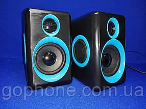 Колонки для компьютера FT-165 Blue