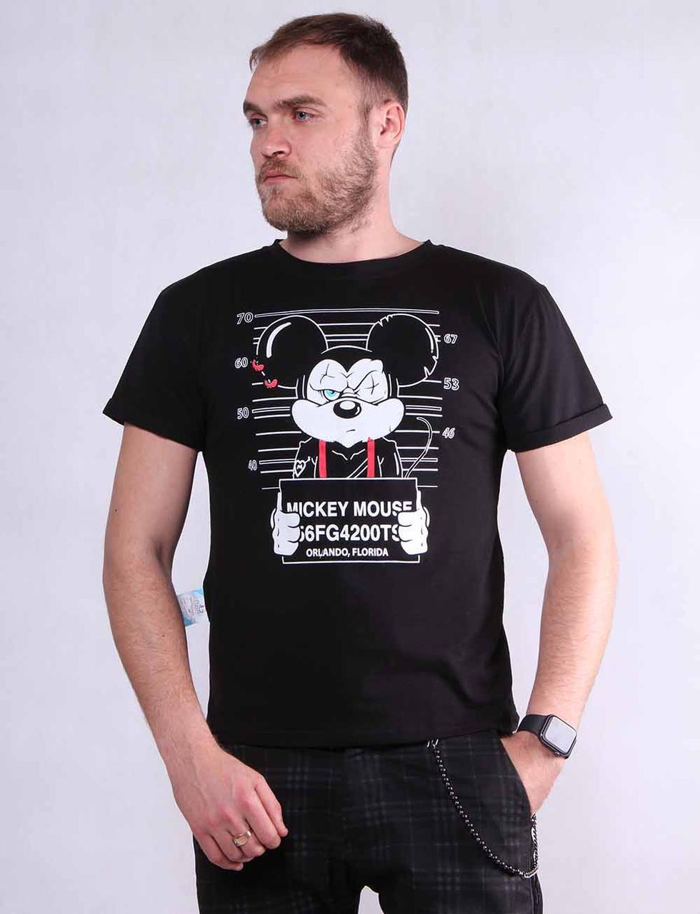 Стильная мужская футболка р. 44-52