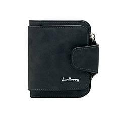 Женский замшевый кошелек Baellerry Forever Mini N 2346 Black Черный