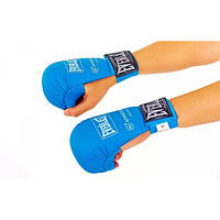 Перчатки для каратэ ELAST PG-10 (PU, синий)