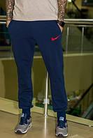 Спортивные штаны Nike темно-синие