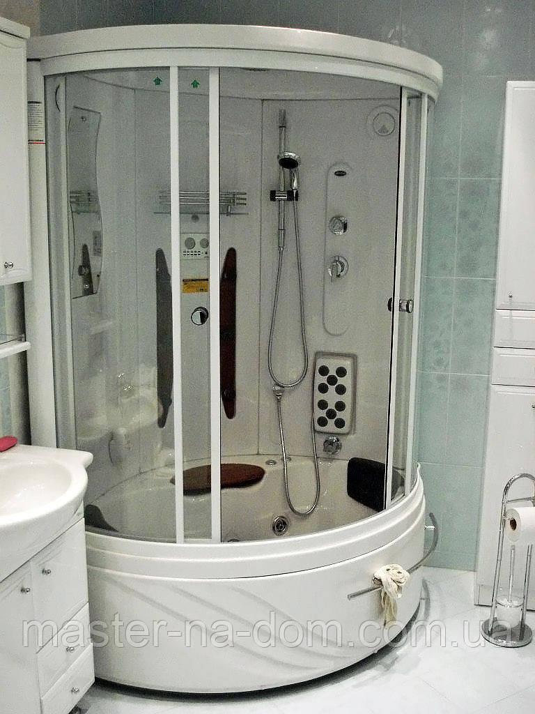 Монтаж душової кабіни у Луцьку