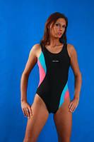 Модный слитный купальник для бассейна (S)