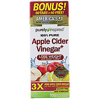 Purely Inspired, Apple Cider Vinegar+, 100 Easy-to-Swallow Veggie Tablets