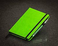 Блокнот с черной бумагой Зеленое Яблоко стандарт