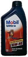 Моторное масло полусинтетика Mobil Ultra (Esso Ultra) 10w40 1л