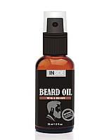 Inside Cредство для бороды с маслом макадами и запахом Мускуса и Бренди Inside Beard Oil 30 мл.