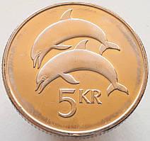 Исландия 5 крон 1999