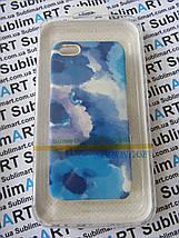 Дизайнерский чехол ручной работы для Iphone 5/5s (акварельный принт), фото 3