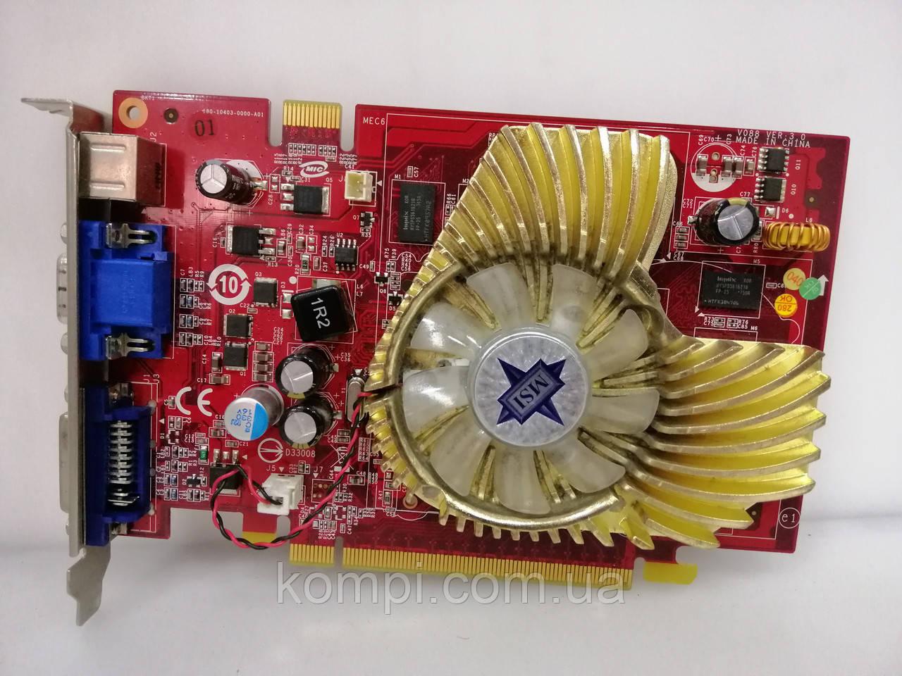 Видеокарта NVIDIA 8600GT 256mb   PCI-E