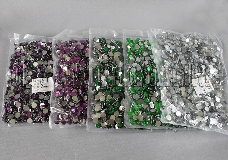 Камешки фигурные 8 мм 100 гр ~1000шт