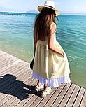 Женское красивый сарафан (в расцветках), фото 3