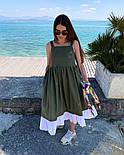 Женское красивый сарафан (в расцветках), фото 4