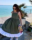 Женское красивый сарафан (в расцветках), фото 5