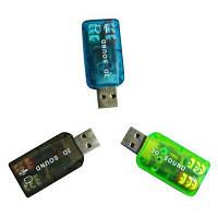 USB звуковая карта 3D Sound card 5.1 внешняя, фото 1