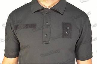 Футболка-поло летняя полицейская из ткани CoolPass, фото 2