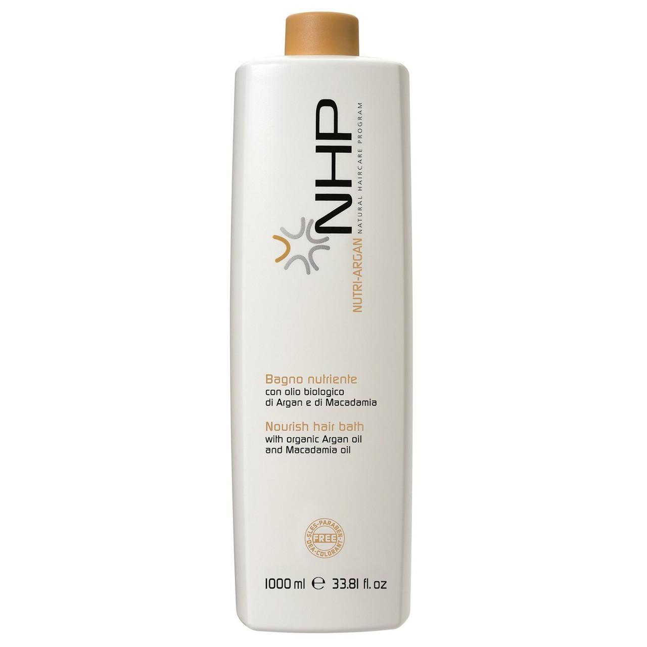 Питательный шампунь NHP NUTRI ARGAN для волос