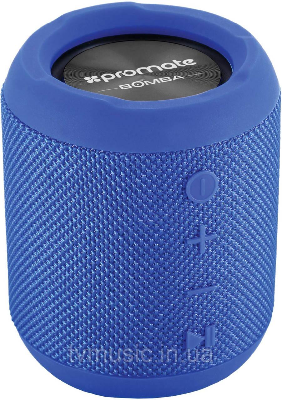 Портативная колонка Promate Bomba Blue