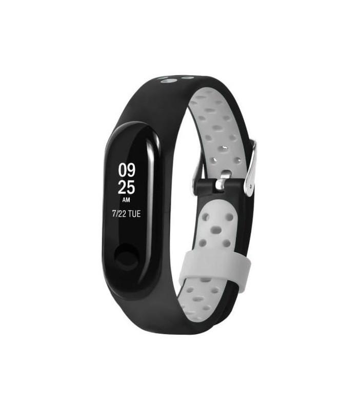 Ремешок для фитнес-браслета Xiaomi Mi Band 3 Nike Black-White