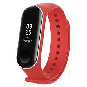 Ремешок для фитнес-браслета Xiaomi Mi Band 3 Red