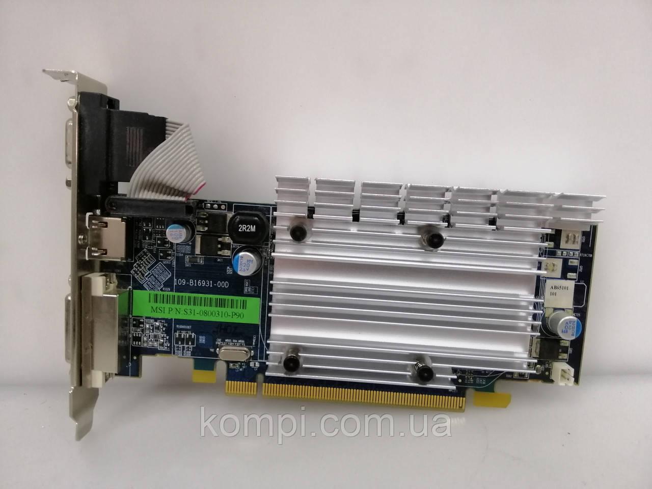 Видеокарта ATI HD 3450 256mb PCI-E