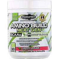 Muscletech, Amino Build Next Gen BCAAs , Cherry Limeade, 15.06 oz (427 g)