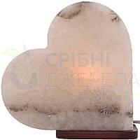 Соляна лампа SaltLamp Серце 3-4 кг