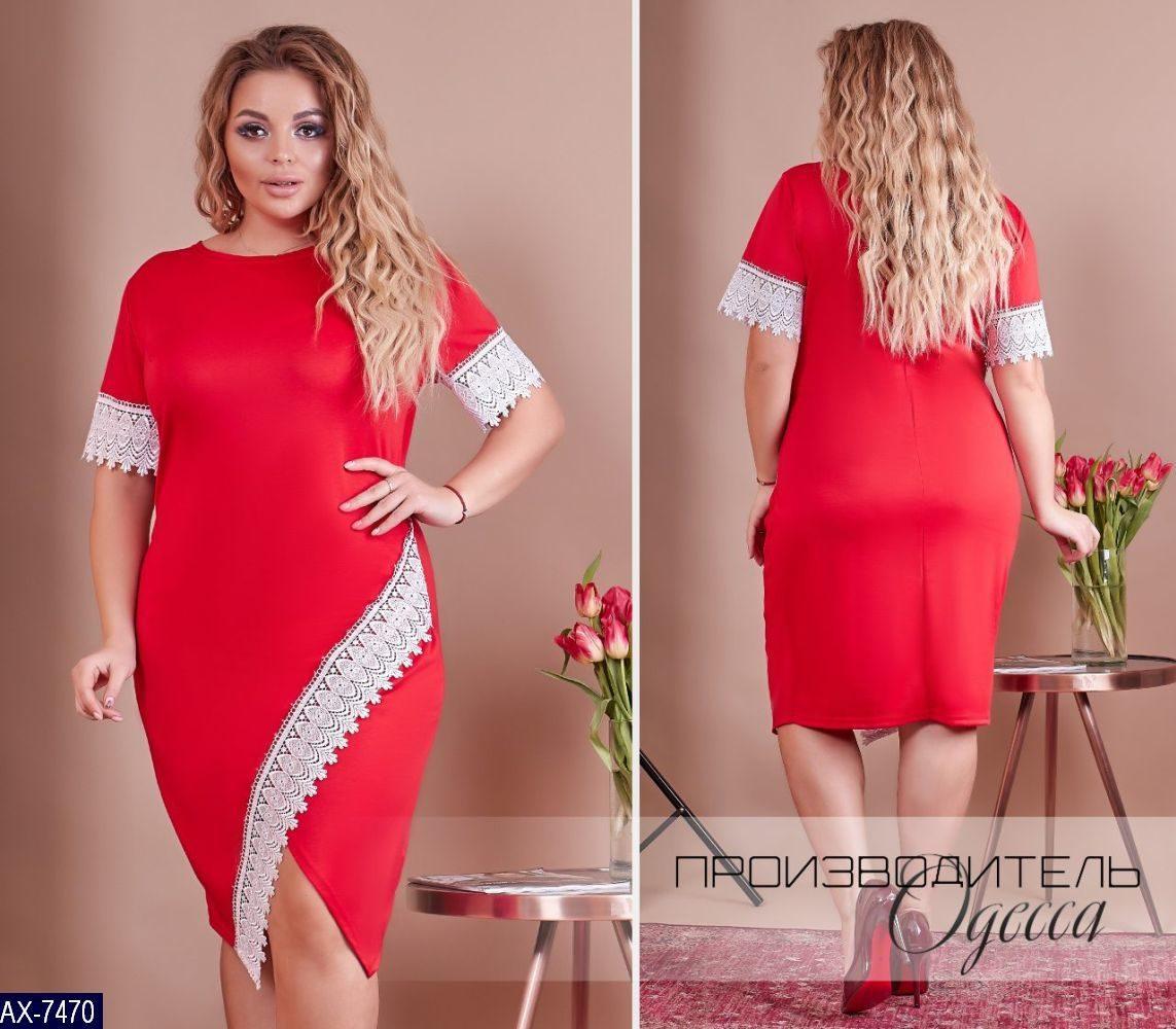 Стильное платье      (размеры 48-58)  0174-60