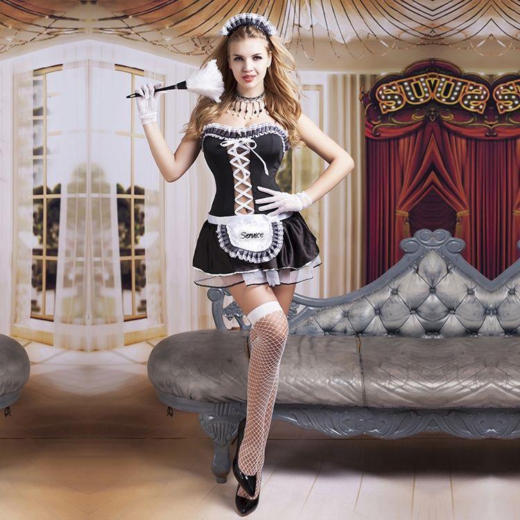 """Эротический ролевой костюм горничной """"Волшебница Элис"""""""