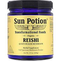 Sun Potion, Organic Reishi Powder, 3.5 oz (100 g)