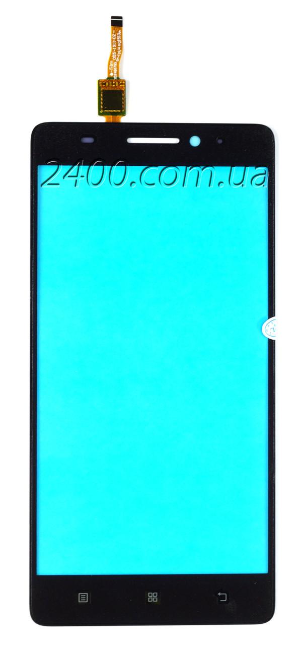 Тачскрін Lenovo A7000 (сенсор) для телефону Леново А7000 (Lenovo A 7000) оригінал чорний