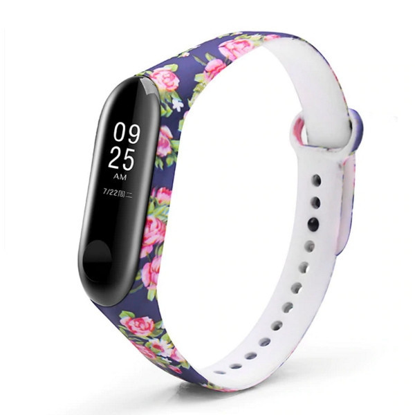 Ремешок для фитнес-браслета Xiaomi Mi Band 3 Rose
