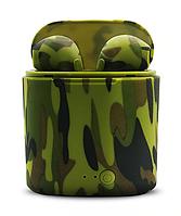 Беспроводные наушникиTWS i7s Камуфляж Green ОПТОМ, фото 1