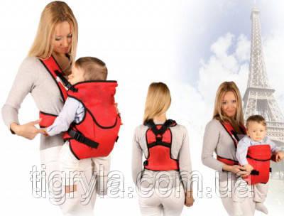 Кенгуру Рюкзак-переноска №12  аналог Sunny standart ― предназначен для малышей от 3 до 24 месяцев жизни, фото 2
